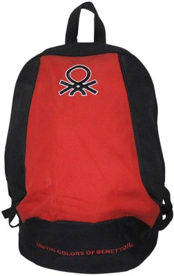 United Colors of Benetton UCB School Red Medium Backpack