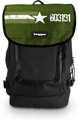 Tagger Urban Electro One Man Army Argr_olbk (Black) Top Loaded Ultimate 21 L Laptop Backpack