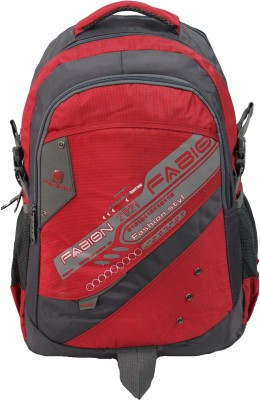Fabion 1350 Red N Grey 36 L Large Backpack