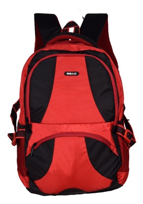Ideal Streak Red and Black 25 L Laptop Backpack