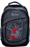 Skyline 057 21 L Laptop Backpack (Red)