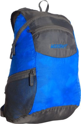 Wildcraft Pac N Go 18 L Backpack(Grey, Blue)