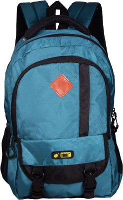 Ideal Advert Blue and Black 25 L Laptop Backpack