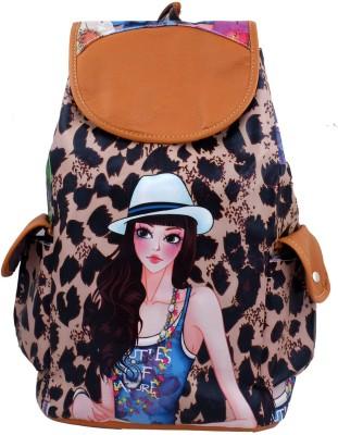 Super Drool Stylist Diva Leopard 12 L Backpack