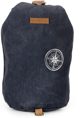 The House of Tara Canvas Rucksack 29 L Backpack(Midnight Blue)