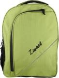 Zwart 15 inch Laptop Backpack (Green)