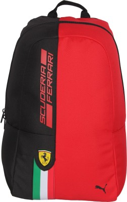 b24ee83ac35a Buy Puma Ferrari Fanwear Rosso Corsa 2.5 L Backpack(Rosso Corsa-Puma Black)  at best price in India - BagsCart