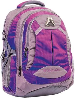 Fabion 1362 Purple N Grey 33 L Large Backpack