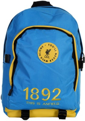 Liverpool FC Invader Blue & Yellow Polyester 18 L Backpack