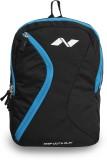 Nivia Cross 17 L Backpack (Black, Blue)