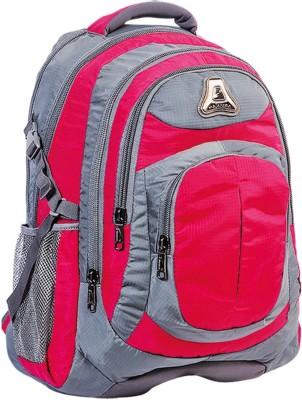 Fabion 1361 Pink N Grey 33 L Large Backpack