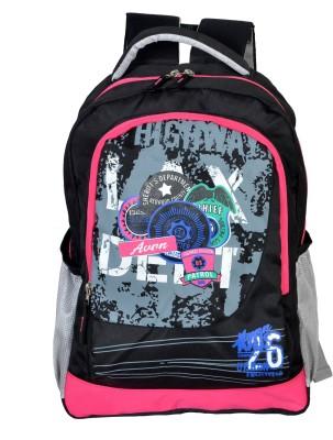 Avon Highway Patrol Black & Pink 30 L Backpack