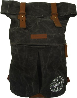 The House of Tara Distress Finish Canvas 20 L Backpack