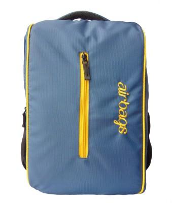 airbags 15.6 inch streaks blue 3.5 L Laptop Backpack