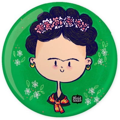 Alicia Souza Flowers Badge