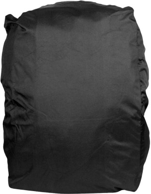 Petrox Black Polyester Casual Waterproof Laptop Bag Cover, School Bag Cover