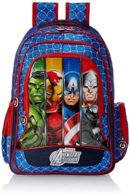 Avengers 16 Inch Blue School Bag