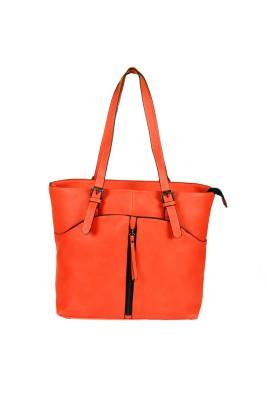 India Unltd Orange Shoulder Bag School Bag