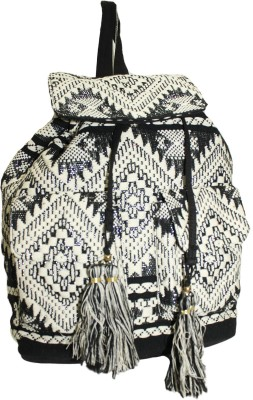 Tiara Large Abstract Design Backpack Form Women Waterproof School Bag