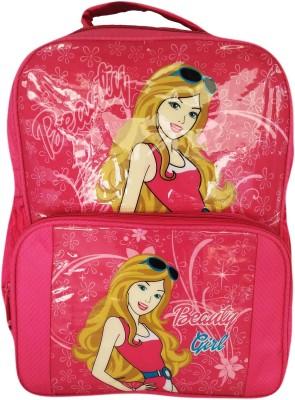 Digital Bazar Pink Barbie kids Berry Backpack Waterproof School Bag