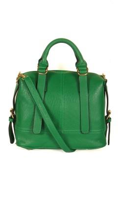 India Unltd Green Satchel Bag School Bag