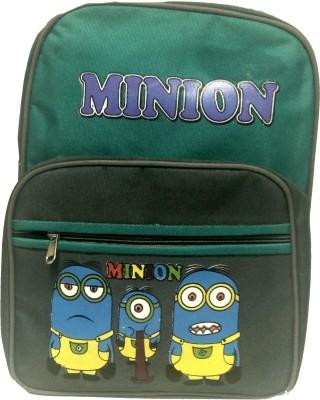 Riddi Impex Super Star Minion-03 Waterproof School Bag