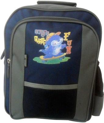 Donex School Bag(Blue, 10 L)