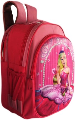 Digital Bazar 3D Pink Barbie AMAZICA Super Cute Edition Kids Backpack Girl Waterproof School Bag
