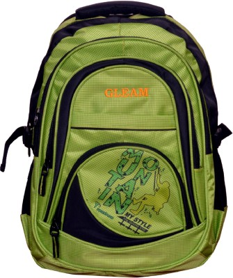 Gleam Mesh Padded School Waterproof Backpack