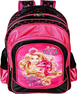 Mattel Pearl Princess School Bag(Pink, 18 inch)