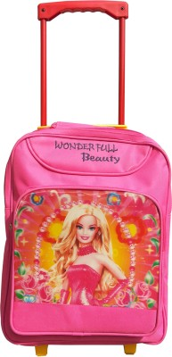 Butterfly Princess Mesh Bag Waterproof School Bag(Pink, 15 inch)