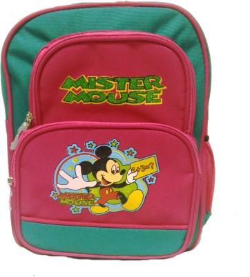 Riddi Impex Super Star Mister Mouse Waterproof School Bag