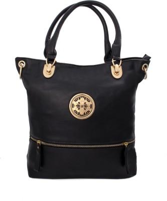 India Unltd Royal Black Handbag School Bag