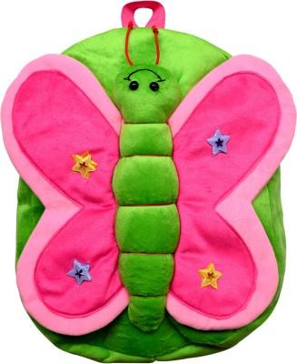 Funtastik Green Butterfly Design Kids Bag School Bag