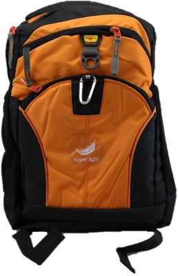 Gene Light Weight Orange Waterproof School Bag