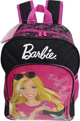 Mattel Barbie Pink and Black Bag School Bag