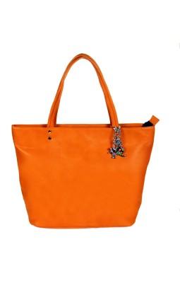 India Unltd Orange Tote Bag School Bag