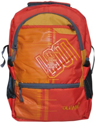 Gleam Mesh Padded School Waterproof School Bag