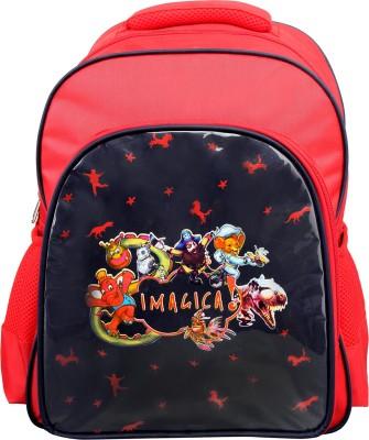 Imagica School Waterproof School Bag
