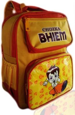 Digital Bazar Chicago Yellow MIRACLE CHOTKA BHIEM Kids backpack (MAHARASHTRIAN THE KING) Edition Waterproof School Bag