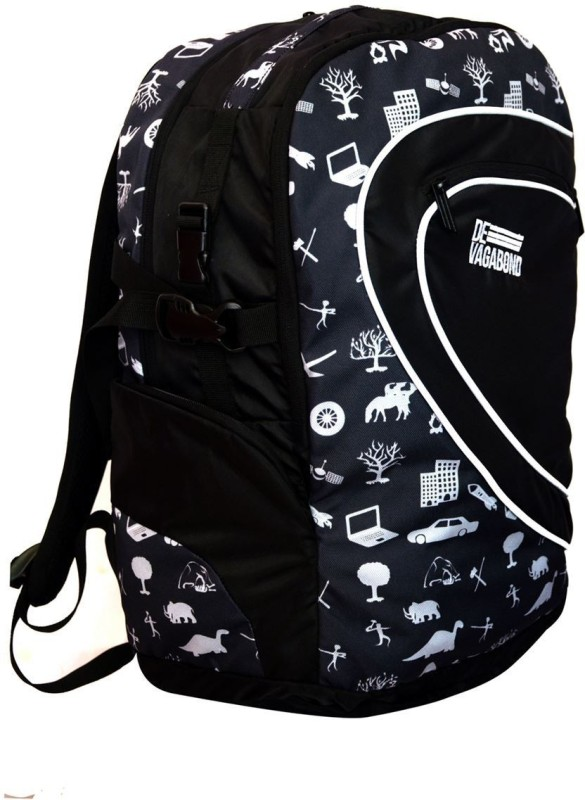 Devagabond Backpack(Black, 35 L)