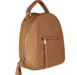 Lychee Bags Women Brown PU Shoulder Bag
