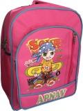 Apnav Waterproof Backpack (Pink, 14 inch...
