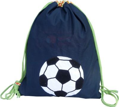 Little Pipal Football Junior Drawstring Backpack
