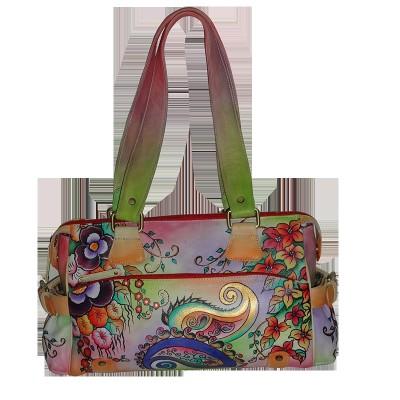 Shankar Produce paisley floral print bag School Bag