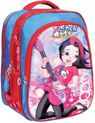 D M Pakitwala EVA Emboss Shell Waterproof School Bag