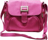 Bainsons Satchel School Bag (Pink, 9 inc...