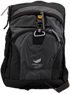 Gene Light Weight Grey Waterproof School Bag