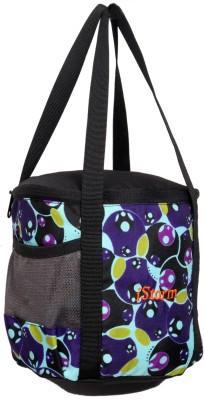 Istorm Tiffen Waterproof School Bag(Purple, 7 inch)