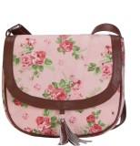 Lychee Bags Women Pink, Green Canvas Sli...